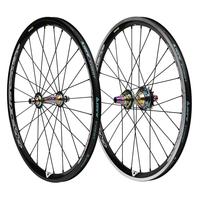 Paire de roues PRIDE Rival V2 expert (oil slick)