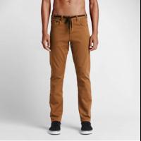 Pantalon NIKE SB FTM 5 pocket bière brune