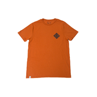 Tee shirt THE TRIP Hot Sauce bunrt orange