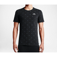 Tee shirt NIKE SB Allovert print black heather