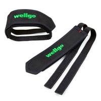 Footstraps WELLGO black