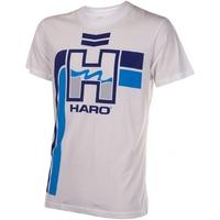 Tee shirt HARO retro white/blue