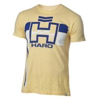 Tee shirt HARO retro yellow/blue