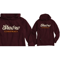 Sweat  capuche SHADOW Enseign Maroon