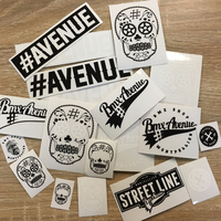 Stickers BMX AVENUE pack 19pc