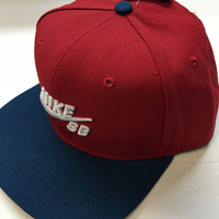 Casquette NIKE SB Icon Pro red/teal