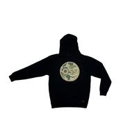 Sweat capuche OSS Circle Logo black