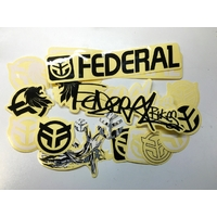 Stickers FEDERAL pack 17pc
