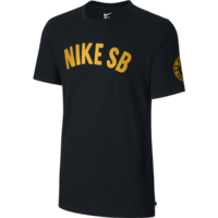 Tee shirt NIKE SB Spring Training black/gold