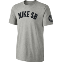 Tee shirt NIKE SB Spring Training grey heather/black
