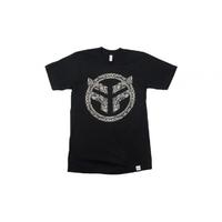 Tee shirt FEDERAL Paisley black