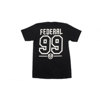 Tee shirt FEDERAL Baseball black