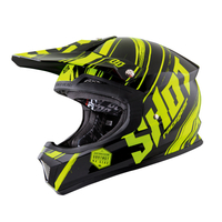 Casque SHOT Genesis neon yellow