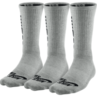 Chaussettes NIKE SB pack X 3 heather grey