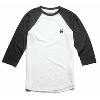 Tee shirt ETNIES Baseline Raglan black