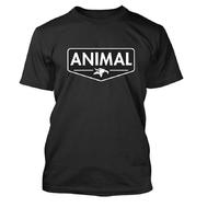 Tee shirt ANIMAL Emblem black