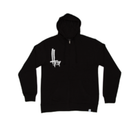 Zipper capuche THE TRIP O.G black