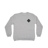 Sweat crew THE TRIP Hot Sauce grey heather
