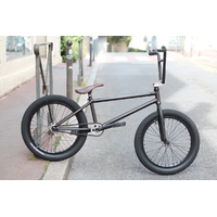 Bmx custom STRESS Crew mat trans black