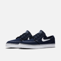 Shoes NIKE SB Stefan Janoski canvas obsidian/white