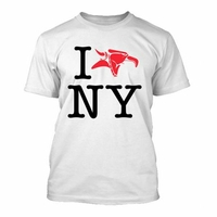 Tee shirt ANIMAL I Love NY white