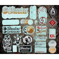 Stickers SHADOW pack 36pc