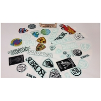 Stickers SUBROSA pack 36pc