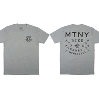 Tee shirt MUTINY Hexagram grey