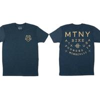 Tee shirt MUTINY Hexagram navy