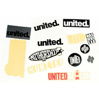 Stickers UNITED pack 12pc