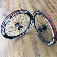 Paire de roues ONYX/ICE FAST carbone custom 20 X 1.60