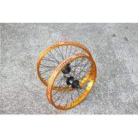 Paire de roues FEDERAL Stance XL trans gold