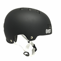 Casque SHOT Solid black mat