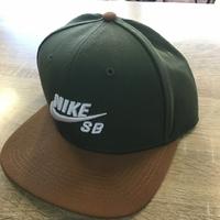 Casquette NIKE SB Icon Pro green/brown