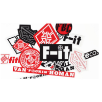 Stickers FIT BIKE Co pack 15 pc