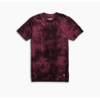 Tee shirt ETNIES Obstruct screen burgundy