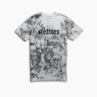 Tee shirt ETNIES Salve alters black/white
