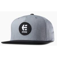 Casquette ETNIES Rook snapback grey heather/black