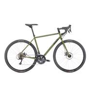Vélo gravel GENESIS Croix de Fer vert army 10 2017