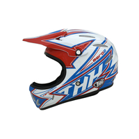 Casque THH S2 white/red/blue