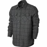 Chemise NIKE SB Holgate Yard Dye Wool charcoal heather