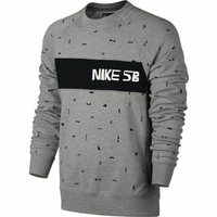 Sweat crew NIKE SB X CH Everett grey heather/black