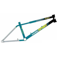 Cadre HARO Lineage team sport black/teal/chrome 2017