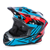 Casque FLY RACING Default teal/red