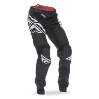 Pantalon FLY RACING Kinetic Crux black/white 2017