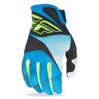 Gants FLY RACING Lite blue/black/hi-vision 2017