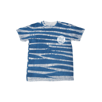 Tee shirt THE TRIP Trixton tie dye blue white