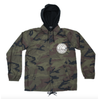 Veste THE TRIP hooded coach camo