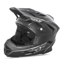 Casque FLY RACING Default black mat
