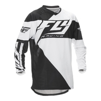 Maillot FLY RACING F-16 black/white 2016